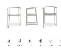 moderni stoli Nordica