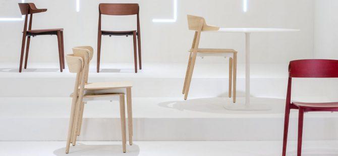 leseni stoli, moderni stoli